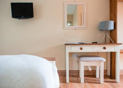 Double Room Bed and Breakfast at the Talbot Arms Uplyme.