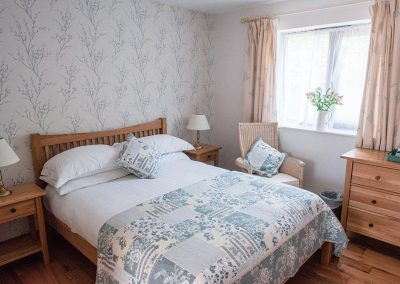 Double Room B&B at the Talbot Arms Uplyme Devon.