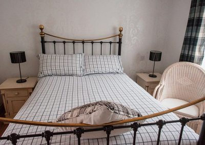 Double Bedroom B&B cottages at the Talbot Arms Uplyme Devon
