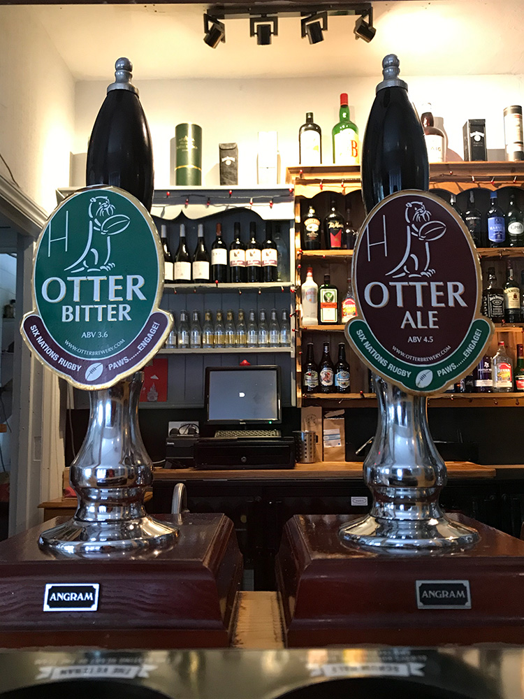 Oter Draught Beer - The Talbot Arms Free House Uplyme